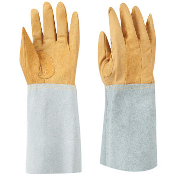 Welding Split Leather Five Finger Gloves W-115