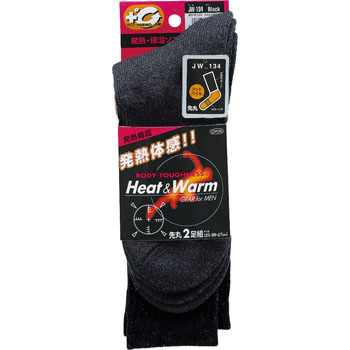 BT Thermo Socks Foot Pile 2P