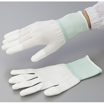 PU Coating Gloves, Overlock Knit Palm
