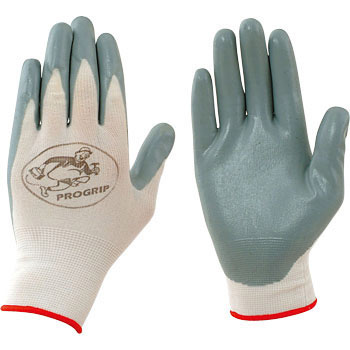 Nitrile Rubber Gloves, Gray