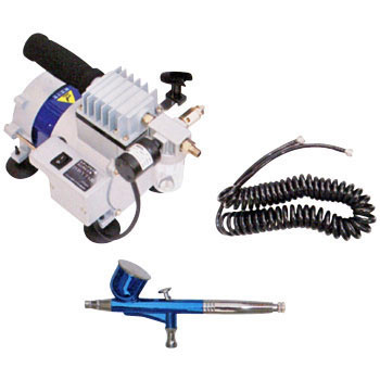 Airbrush Compressor Set