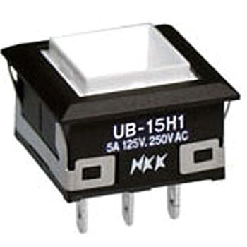 Illuminated pushbutton switch UB series