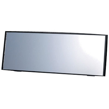 Rear View Mirror Black, 240mm Convex, 3000R Wide