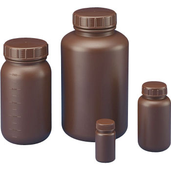 Standard specification bottle round type wide mout (light-shielding)