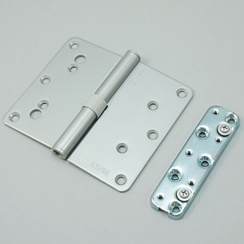 Adjustment mechanism with hinge N17 type 6R