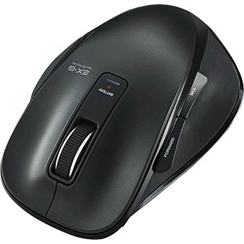 5 Button BT BlueLED Mouse, EX-G