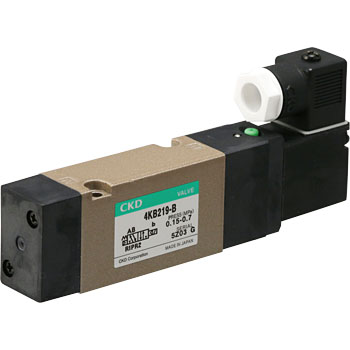 4KA , B Series pneumatic valve 5 port pilot valve (4KB219 to)