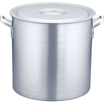 Aluminum Stockpot, Alumite Work, Measure