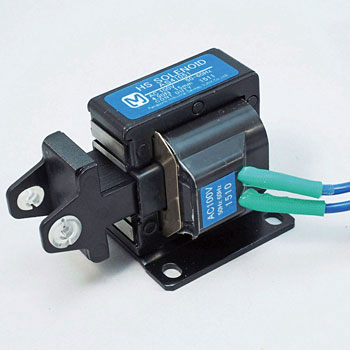 HS solenoid - pull type horizontal mounting