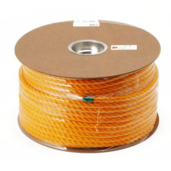PE color rope drum winding