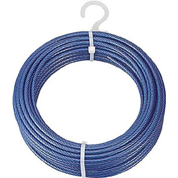 PVC-coated wire 4X6 200 Metoru winding NikkoSeiko Wire Ropes ...