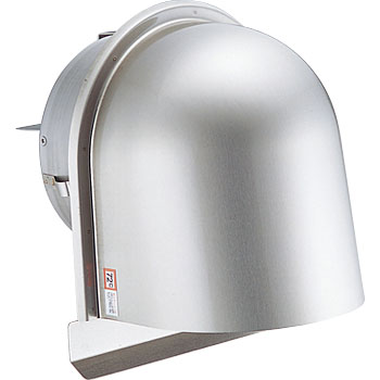 Stainless Steel U-Shaped Hood Louvers, with Damper