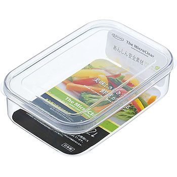 The Micro Clear Food Container