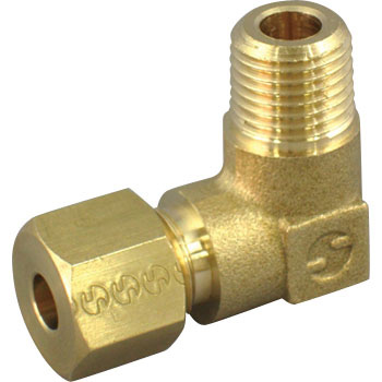 Ring joint (male thread elbow connector)