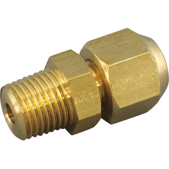 Flare joint (male thread connector)