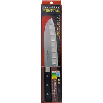 Dimple Kitchen Knife