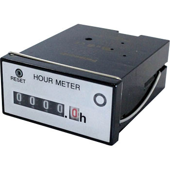 Hour Meter with Reset Button