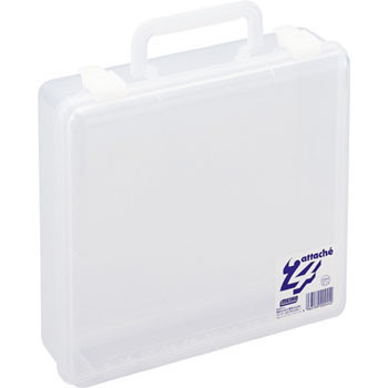 Transparent Attache Case