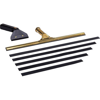 Squeegee replacement for brass Rubber