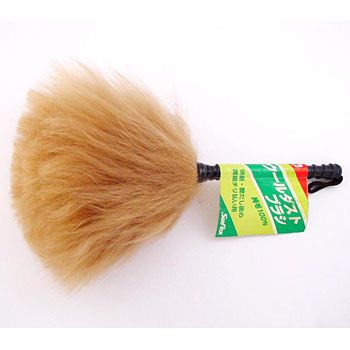 Wool dust brush