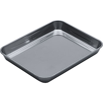 Stainless steel angle type tray