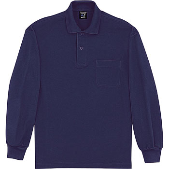47604 Sweat-absorbent quick drying long-sleeved polo shirt