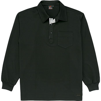 85204 sweat-absorbent quick-drying long-sleeved polo shirt