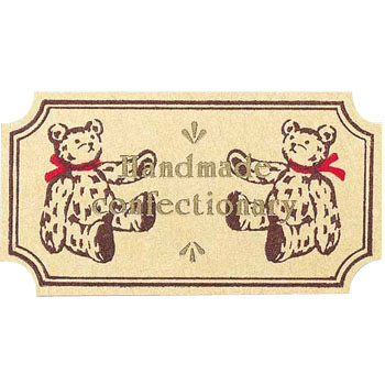 Sticker Brown Bear