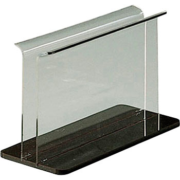 Acrylic menu book stand