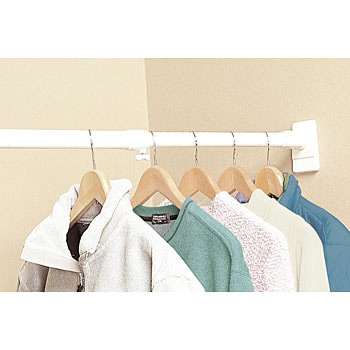 Adjustable Closet Rod