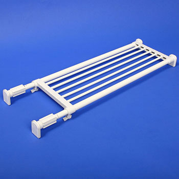 Expandable Tension Rod Shelf
