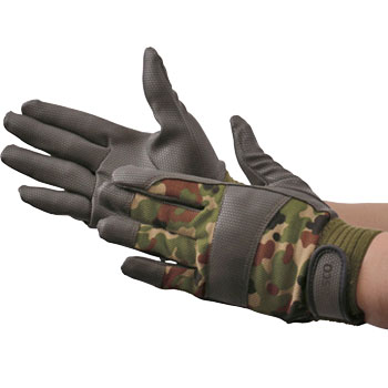 Leather Camouflage Gloves