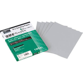 Dry sanding paper 5 sheets