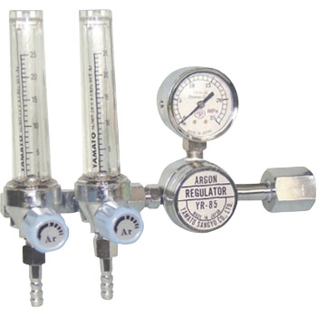 For argon with dual flow meter pressure regulator YR-85F2