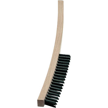 4 lines long wooden handle hand brush