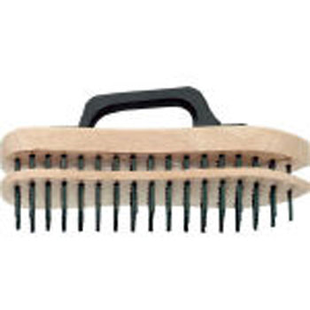 Adjustable hand brush