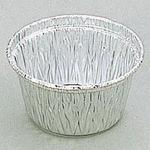 Baked round-type cup
