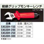 150mm insulation grip monkey wrench