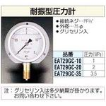 Flanged Pressure Gauge (Glycerin included)