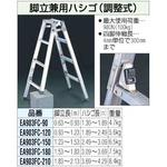 180cm stepladder combination ladder [adjustable]
