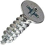Countersunk Head Tapping Screw, Iron / Uni-Chromium