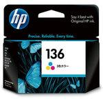 HP 136 print cartridge color
