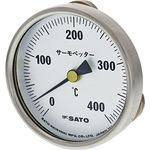 Surface Magnetic Bimetal Thermometer 0 to 400 deg C