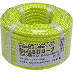 Fluorescent color eight strokes rope