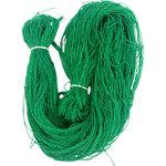 Side green curtain net with rope