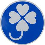 Clover mark magnet type
