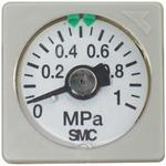 Square-Shaped Embedded Type Pressure Gauge for Regulators