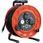 Single-phase 100V type cord reel 50m