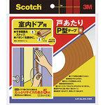 Door per P-type tape for interior doors