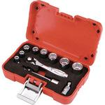 Socket wrench set (6 square type)